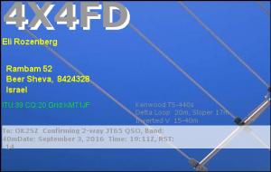 4X4FD 20160903 1911 40m JT65