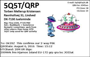 5Q5T-QRP 20160806 1512 20M PSK
