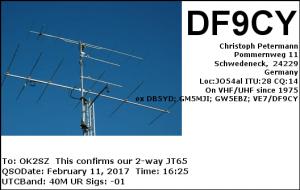 DF9CY 20170211 1625 40M JT65