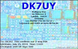 DK7UY 20160725 1401 20M PSK