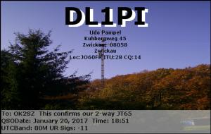 DL1PI 20170120 1851 80M JT65