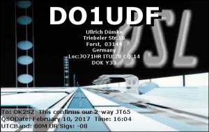 DO1UDF 20170210 1604 80M JT65