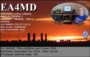 EA4MD 20161230 0936 20M JT65