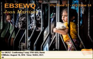 EB3EWQ 20160818 1005 17M JT65