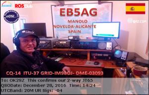 EB5AG 20161228 1424 20M JT65