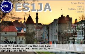 ES1JA 20170129 1843 80M JT65