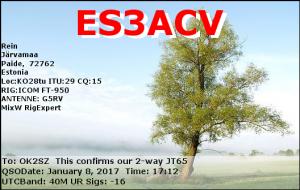 ES3ACV 20170108 1712 40M JT65