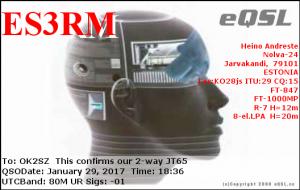 ES3RM 20170129 1836 80M JT65