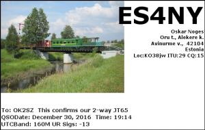 ES4NY 20161230 1914 160M JT65