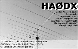 HA0DX 20160716 1324 20M PSK