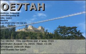 OE7TAH 20160815 1126 20M JT65