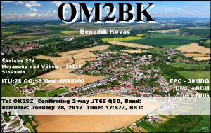 OM2BK 20170128 1757 80M JT65