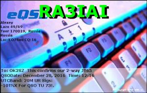 RA3IAI 20161228 1216 20M JT65
