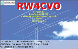 RW4CVO 20170129 1048 17M JT65
