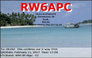 RW6APC 20170211 1758 40M JT65