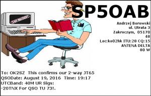 SP5OAB 20160819 1917 40M JT65