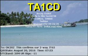 TA1CD 20160820 0753 20M JT65