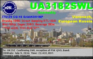UA3182SWL 20160709 2142 20M PSK