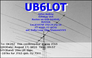 UB6LOT 20160817 0957 20m JT65