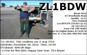 ZL1BDW 20161230 1639 40M JT65